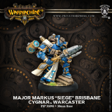 Cygnar Warcaster Major Markus Siege Brisbane 2014